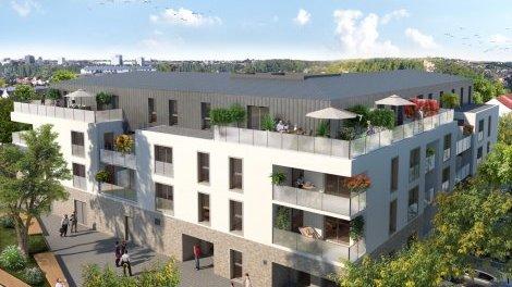 Appartement neuf Signatures - Céleste éco-habitat à Saint-Sébastien-sur-Loire
