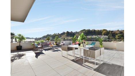 Appartement neuf Les Terrasses du Soleil éco-habitat à Cagnes-sur-Mer