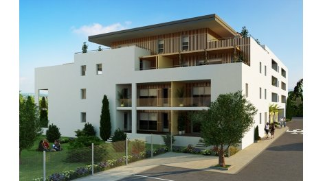 Appartement neuf Côte Mer éco-habitat à Valras-Plage