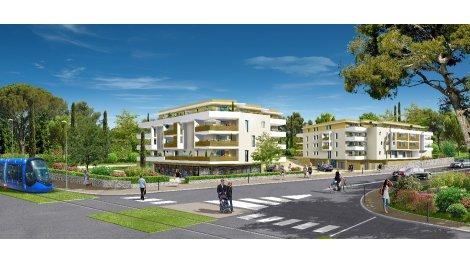 Appartements neufs Le Val Pierre Durand investissement loi Pinel à Montpellier