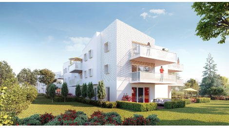 Appartement neuf Un Jardin en Ville éco-habitat à Pessac