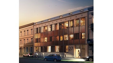 Appartement neuf Patio Roquelaine investissement loi Pinel à Toulouse