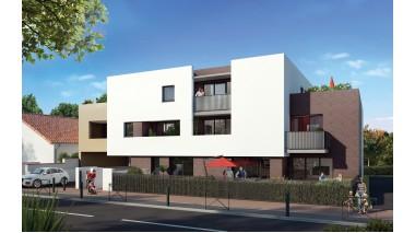 Appartements et maisons neuves Unik by Jean Chaubet éco-habitat à Toulouse