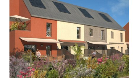 Villas neuves Les Terrasses de la Combe Valton investissement loi Pinel à Talant