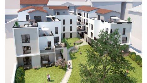 Appartement neuf Les Jardins de René éco-habitat à Oullins