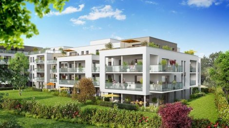 Appartement neuf Serenity investissement loi Pinel à Ferney-Voltaire