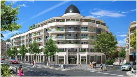Appartement neuf Riviera Square investissement loi Pinel à Cagnes-sur-Mer