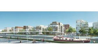 Appartements neufs Canal en Vues 7 8 éco-habitat à Noisy-le-Sec