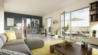 Appartements neufs Meridienne Bat c et d investissement loi Pinel à Marseille 13ème