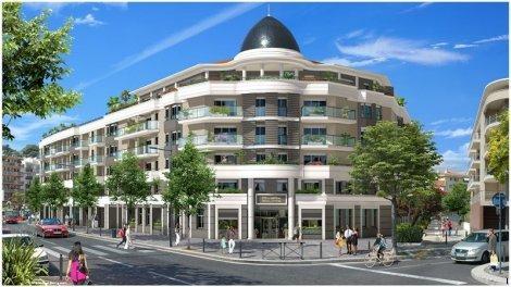 Appartement neuf Riviera Square 2 investissement loi Pinel à Cagnes-sur-Mer