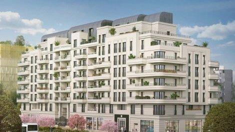 Appartement neuf Vogue V1a investissement loi Pinel à Saint-Ouen