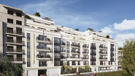 Appartement neuf 120 Danton investissement loi Pinel à Levallois-Perret