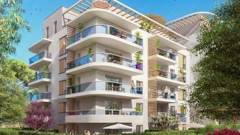 Appartement neuf Le 109 investissement loi Pinel à Le Cannet