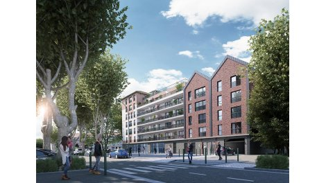 Appartement neuf Les Terrasses de la Seine éco-habitat à Alfortville