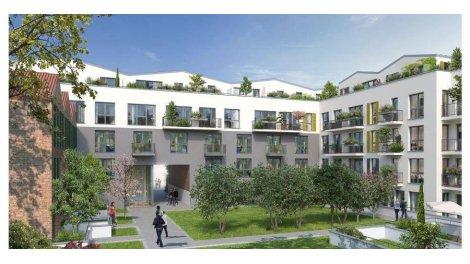 Appartement neuf Le Factory Bagnolet investissement loi Pinel à Bagnolet