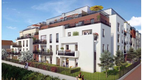 Appartement neuf Les Terrasses de la Roseraie à Cachan