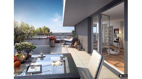 Appartement neuf Les Terrasses de Chaville investissement loi Pinel à Puteaux