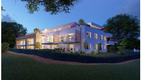 Appartement neuf Les Coteaux investissement loi Pinel à Achenheim