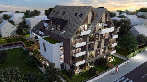 Appartement neuf Hestia investissement loi Pinel à Bischheim