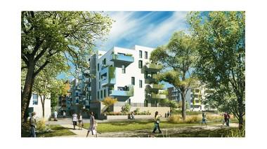 Appartements neufs L'Éco Quartier des Tanneries investissement loi Pinel à Lingolsheim