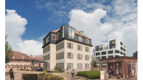 Appartement neuf La Cour des Haras investissement loi Pinel à Strasbourg