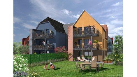 Appartement neuf Le Jardin d'Etienne investissement loi Pinel à Eschau