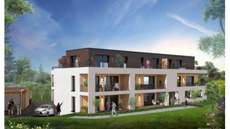Appartement neuf Les Vents d'Ailleurs éco-habitat à Strasbourg