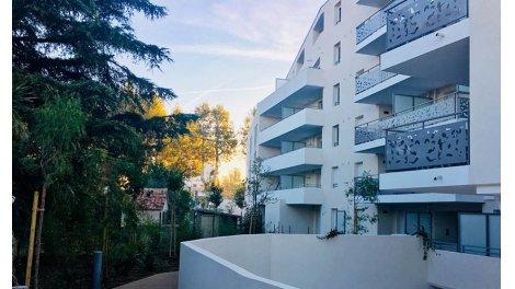 Appartement neuf Les Rives de Saint Loup à Marseille 11ème