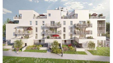 Appartement neuf My Campus rue de Saint Malo investissement loi Pinel à Rennes