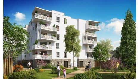 Appartement neuf L'Etang de l'Ile des Pecheurs investissement loi Pinel à Ostwald