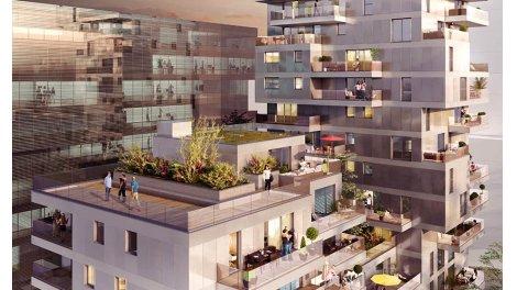 Appartement neuf K-West investissement loi Pinel à Strasbourg