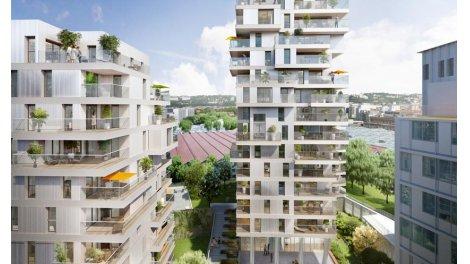 Appartement neuf Regards sur la Ville éco-habitat à Lyon 7ème