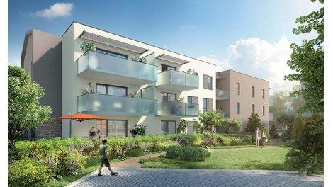 Appartement neuf Millesim' éco-habitat à Champagne-au-Mont-d'Or