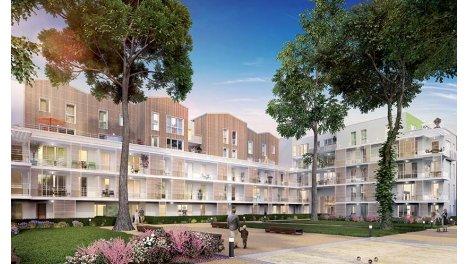 Appartement neuf Empreinte Nature éco-habitat à Meyzieu