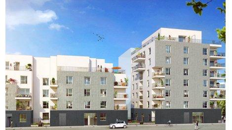 Appartement neuf Enjoy 8 investissement loi Pinel à Lyon 8ème