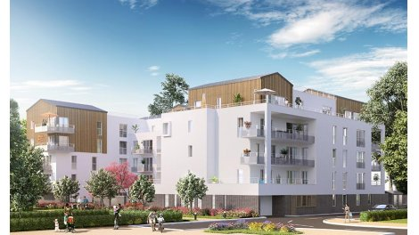 Appartement neuf Esprit Nature éco-habitat à Meyzieu