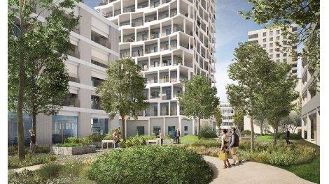 Appartement neuf Édo - Confluence éco-habitat à Lyon 2ème