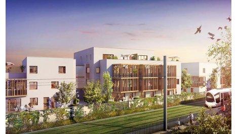 Appartement neuf Onlyone Montchat éco-habitat à Lyon 3ème