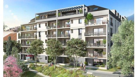 Appartement neuf Exception investissement loi Pinel à Aix-les-Bains
