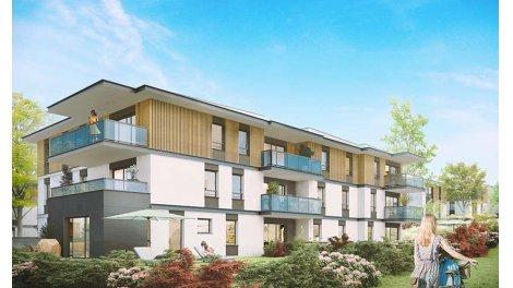 Appartements et maisons neuves Ecrin Leman investissement loi Pinel à Anthy-sur-Léman