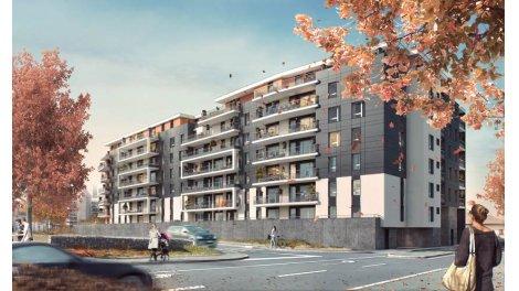 Appartement neuf City Zen investissement loi Pinel à Thonon-les-Bains