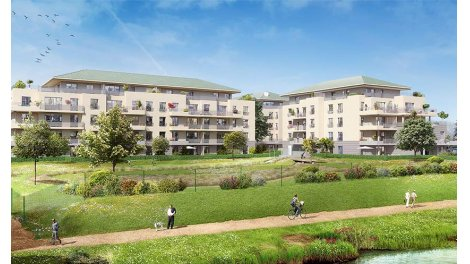 Appartement neuf Seinography éco-habitat à Hardricourt