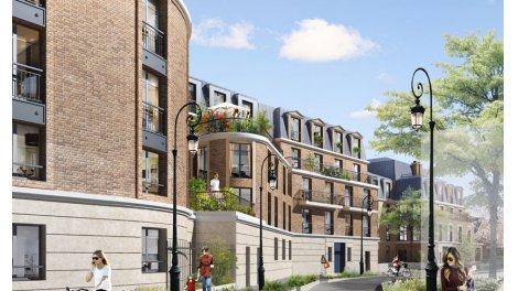 Appartement neuf Cours Voltaire éco-habitat à Puteaux