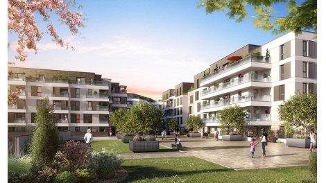 Appartement neuf Nantes - l'Allee Felibien éco-habitat à Nantes