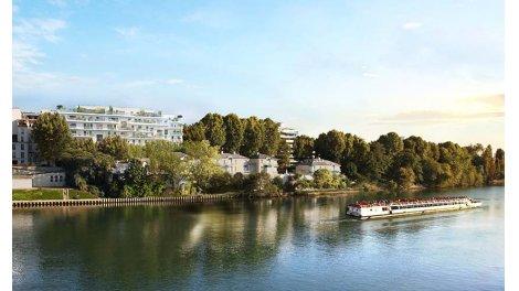 Appartement neuf D'Une Rive à l'Autre à Neuilly-sur-Seine