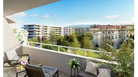 Appartement neuf Château Valmante - Respir' investissement loi Pinel à Marseille 9ème