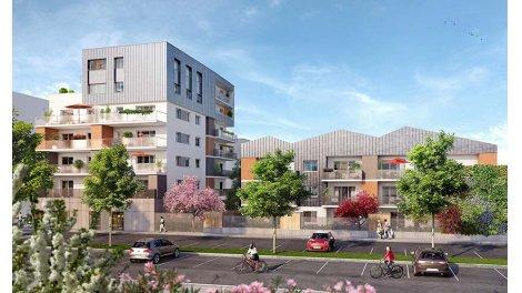 Appartement neuf Les Jardins d'Alphonse investissement loi Pinel à Saint-Martin-d'Hères