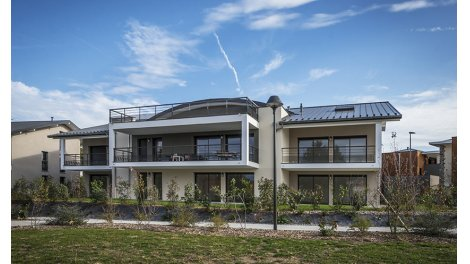 eco habitat neuf à Messery