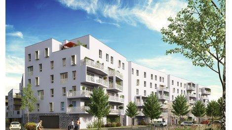 Appartement neuf Le Petit Bois de l'Ile des Pecheurs investissement loi Pinel à Ostwald