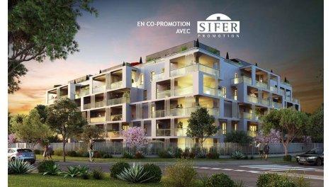 Appartement neuf Allure 8eme investissement loi Pinel à Marseille 8ème